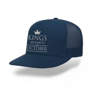 Topi-Trucker-Kings-Are-Born-In-October