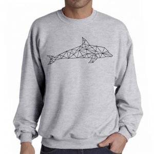 Sweater-Dolphin-Geometric