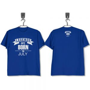 T-SHIRT-BIRU-LEGENDS-ARE-BORN-IN-JULY