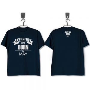 T-SHIRT-NAVY-LEGENDS-ARE-BORN-IN-MAY
