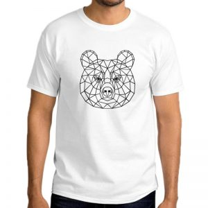 T-Shirt-Bear-Geometric