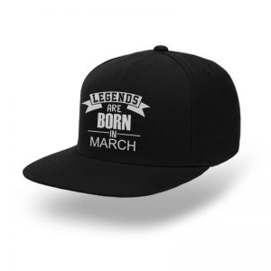 Snapback-Legend-Are-Born-In-March