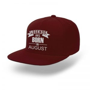 Snapback-Legend-Are-Born-In-August