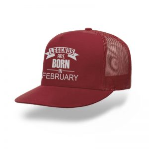 Trucker-Legend-Are-Born-In-February