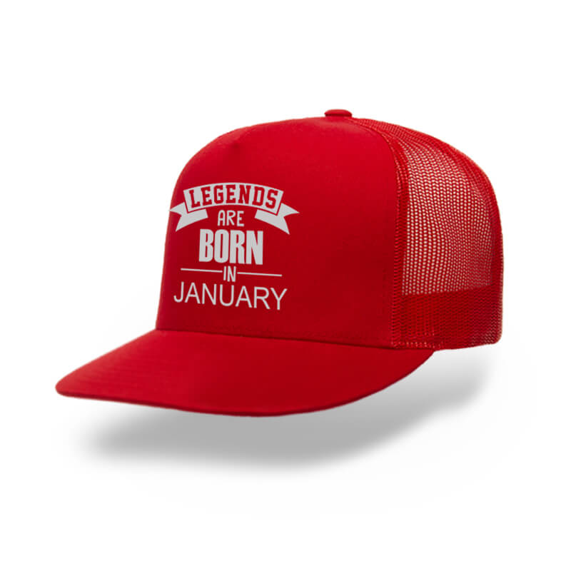 Trucker-Legend-Are-Born-In-January