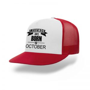 Trucker-Legend-Are-Born-In-October