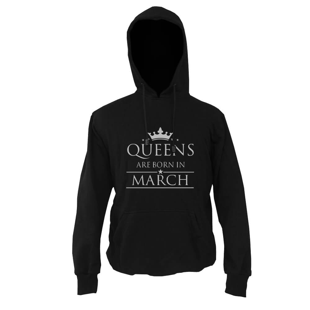 HOODIE-HITAM-QUEENS-ARE-BORN-IN-MARCH