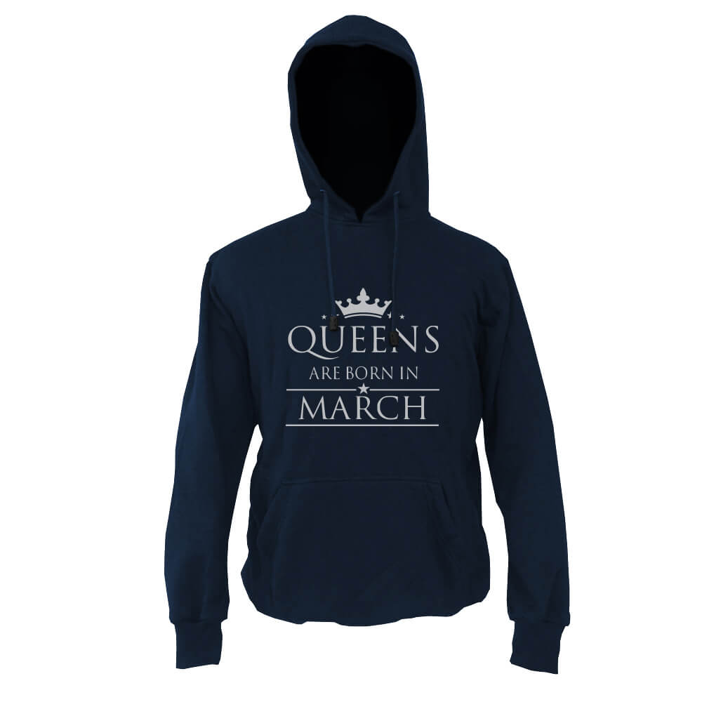 HOODIE-NAVY-QUEENS-ARE-BORN-IN-MARCH