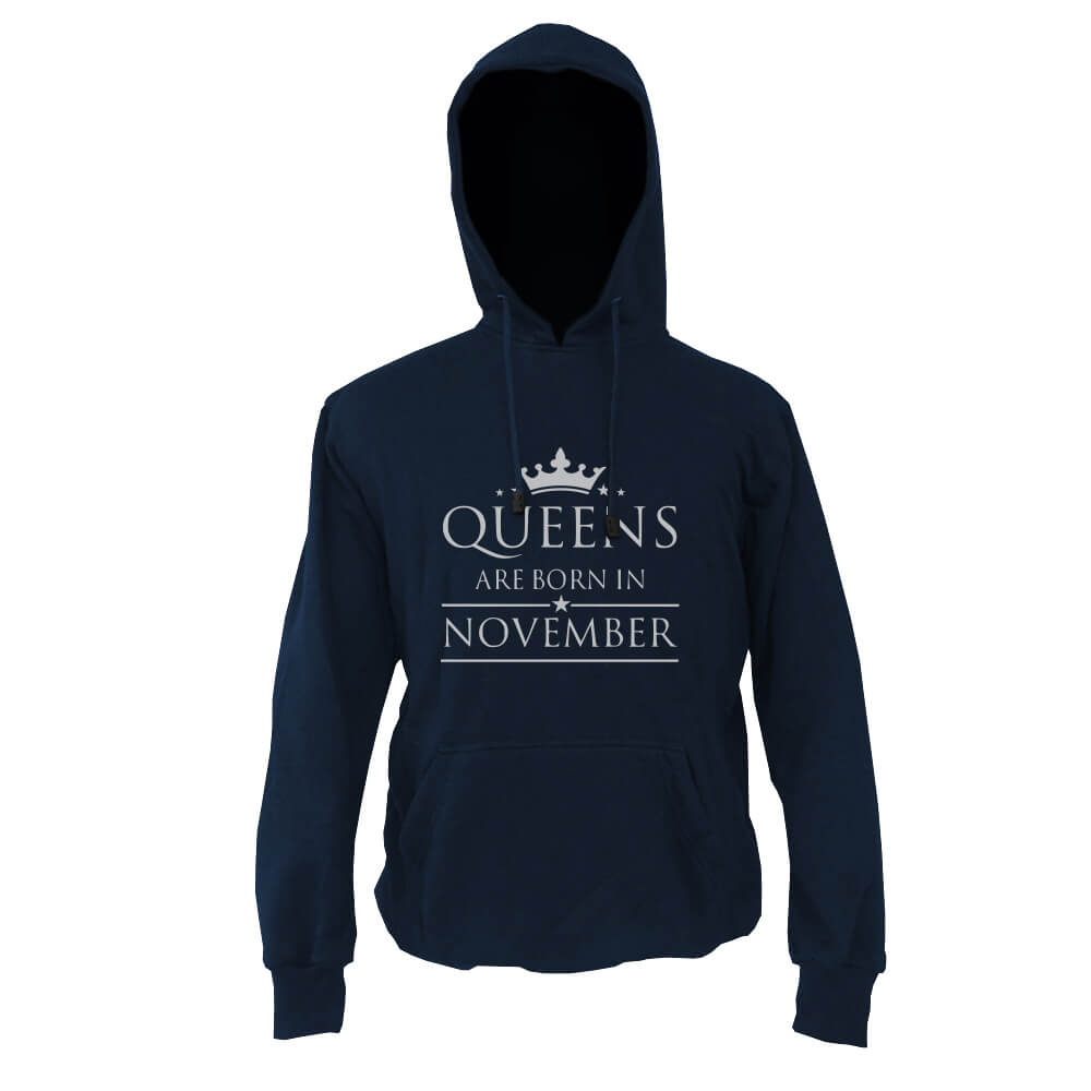 HOODIE-NAVY-QUEENS-ARE-BORN-IN-NOVEMBER