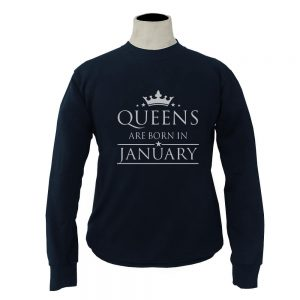 SWEATER-NAVY-QUEENS-ARE-BORN-IN-JANUARY