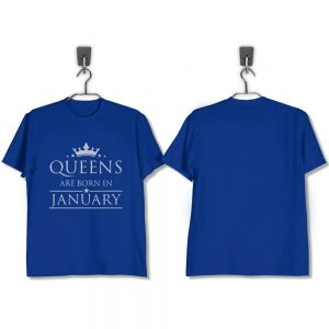 T-SHIRT-BIRU-QUEENS-ARE-BORN-IN-JANUARY