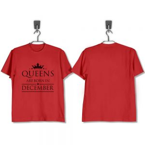 T-SHIRT-MERAH-QUEENS-ARE-BORN-IN-DECEMBER