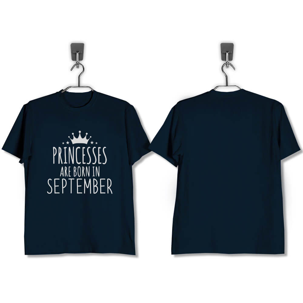 T-SHIRT-NAVY-PRINCESSES-ARE-BORN-IN-SEPTEMBER