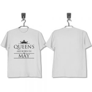 T-SHIRT-PUTIH-QUEENS-ARE-BORN-IN-MAY
