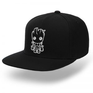 TOPI-SNAPBACK-BLACK-GUARDIANS-OF-THE-GALAXY-I-AM-GROOT-04