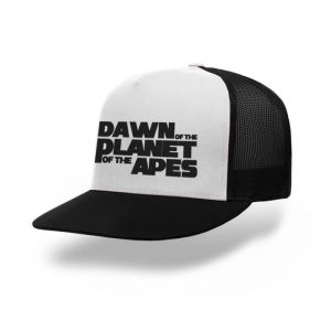 TOPI-TRUCKER-BLACK-WHITE-DAWN-OF-THE-PLANET-OF-THE-APES