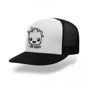 TOPI-TRUCKER-BLACK-WHITE-GUARDIANS-OF-THE-GALAXY-I-AM-GROOT-03