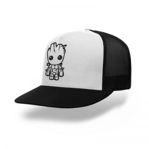TOPI-TRUCKER-BLACK-WHITE-GUARDIANS-OF-THE-GALAXY-I-AM-GROOT-04