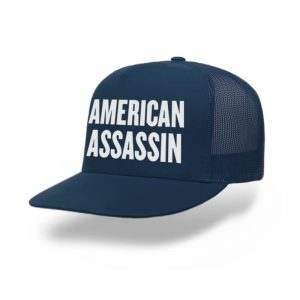 TOPI-TRUCKER-NAVY-AMERICAN-ASSASSIN