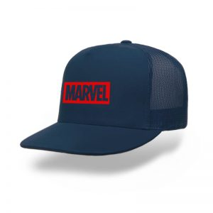 TOPI-TRUCKER-NAVY-MARVEL