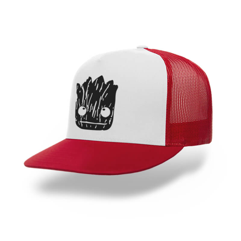 TOPI-TRUCKER-RED-WHITE-GUARDIANS-OF-THE-GALAXY-I-AM-GROOT-01