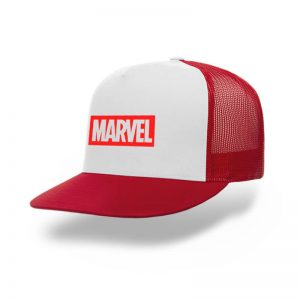 TOPI-TRUCKER-RED-WHITE-MARVEL