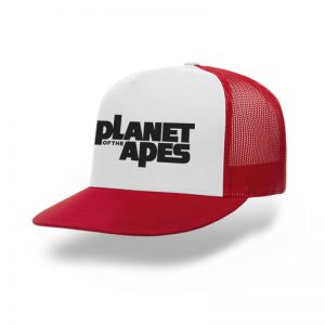 TOPI-TRUCKER-RED-WHITE-PLANET-OF-THE-APES
