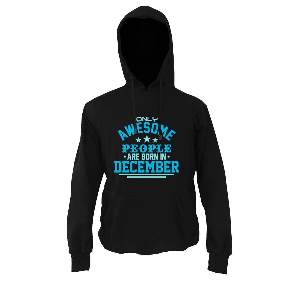 HOODIE-HITAM-AWESOME-PEOPLE-ARE-BORN-IN-DECEMBER