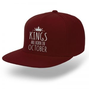 SNAPBACK-MAROON-KINGS-ARE-BORN-IN-OCTOBER