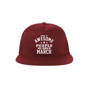 SNAPBACK-MARUN-ONLY-AWESOME-PEOPLE-ARE-BORN-IN-MARCH