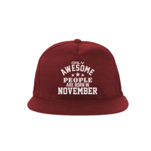 SNAPBACK-MARUN-ONLY-AWESOME-PEOPLE-ARE-BORN-IN-NOVEMBER