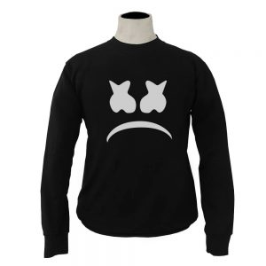 SWEATER-HITAM-MARSHMELLO-SAD