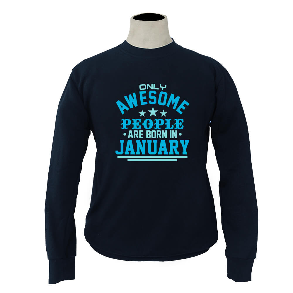 SWEATER-NAVY-AWESOME-PEOPLE-ARE-BORN-IN-JANUARY
