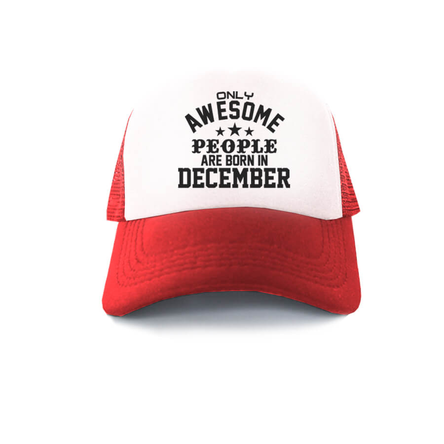 TRUCKER-MERAH-PUTIH-ONLY-AWESOME-PEOPLE-ARE-BORN-IN-DECEMBER