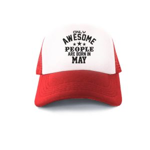 TRUCKER-MERAH-PUTIH-ONLY-AWESOME-PEOPLE-ARE-BORN-IN-MAY