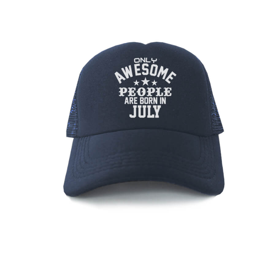 TRUCKER-NAVY-ONLY-AWESOME-PEOPLE-ARE-BORN-IN-JULY