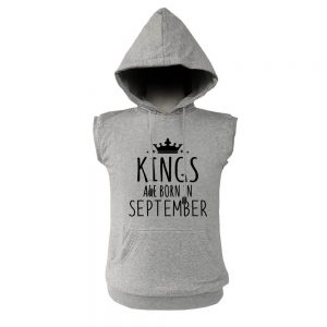 VEST HOODIE - KING ARE BORN - ABU MISTY - SEPTEMBER