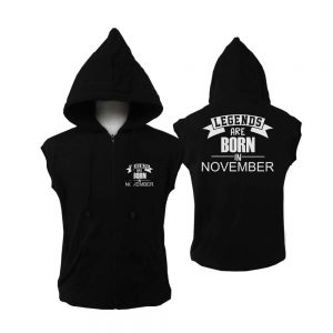 VEST-ZIPPER-HITAM-LEGENDS-ARE-BORN-IN-NOVEMBER