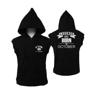 VEST-ZIPPER-HITAM-LEGENDS-ARE-BORN-IN-OCTOBER