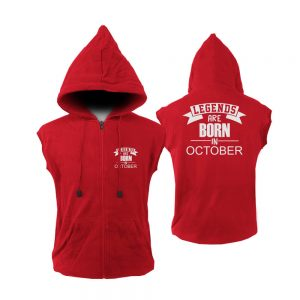 VEST-ZIPPER-MERAH-LEGENDS-ARE-BORN-IN-OCTOBER