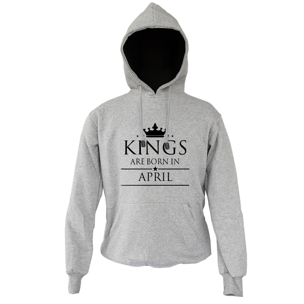 HOODIE - ABU MISTY - KING ARE BORN - APRIL