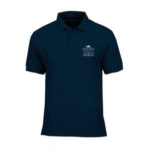 POLO-SHIRT-NAVY-QUUEN-ARE-BORN-IN-MARCH