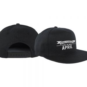 SNAPBACK - HITAM - APRIL