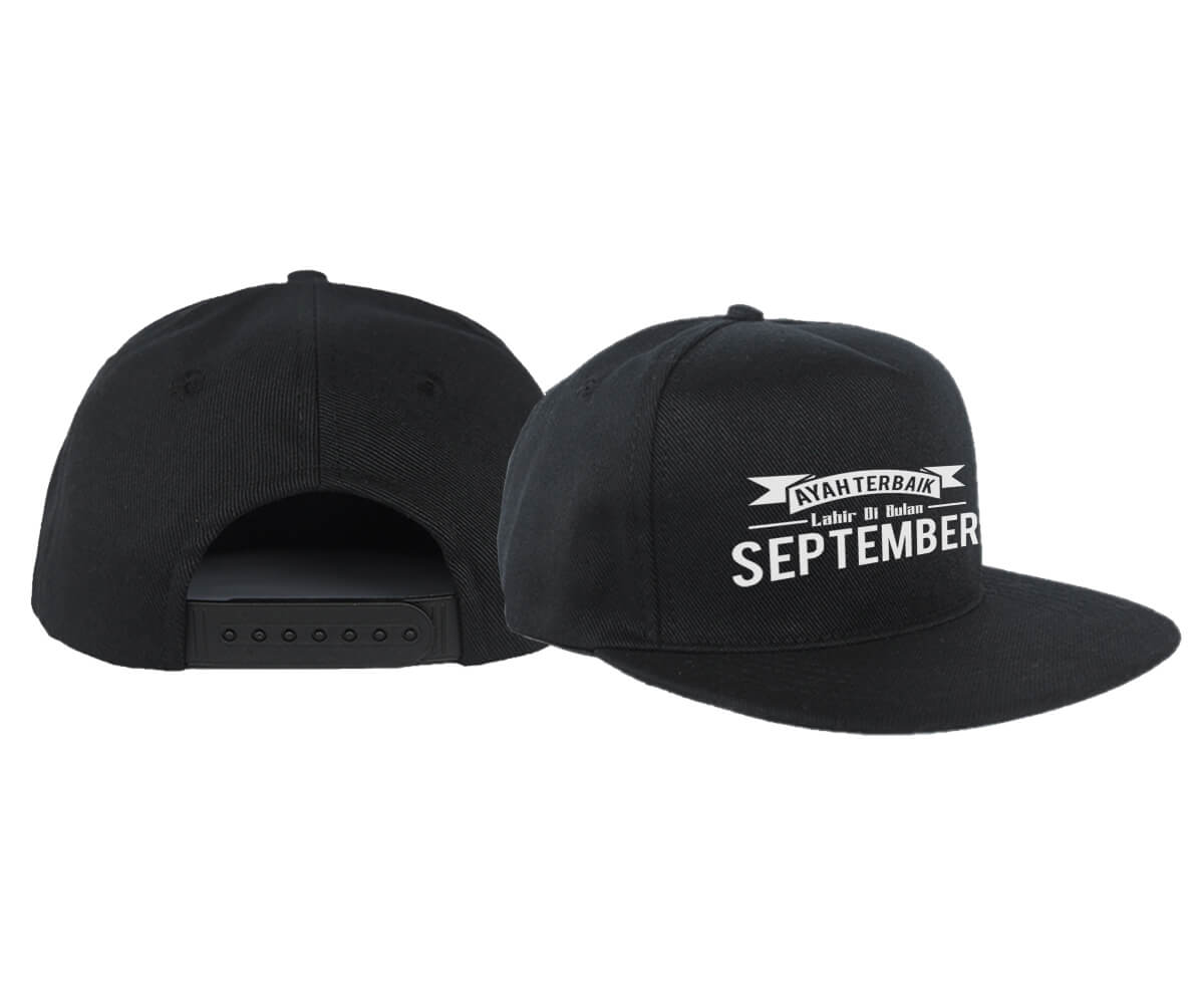 SNAPBACK - HITAM - SEPTEMBER