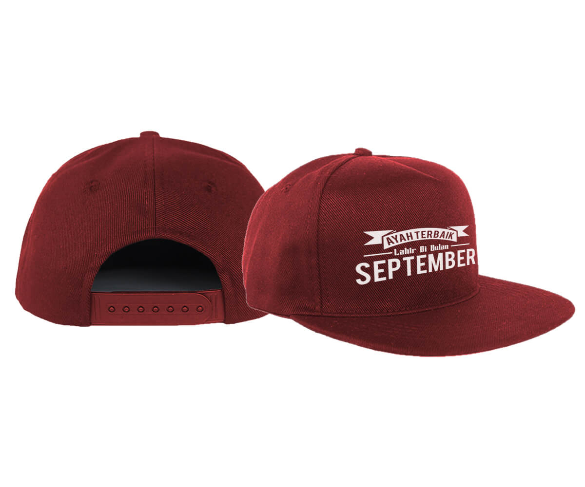 SNAPBACK - MAROON - SEPTEMBER