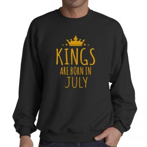 SWEATER - BLACK GOLD - KING ARE BORN - JULY