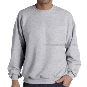SWEATER + MODEL GREY