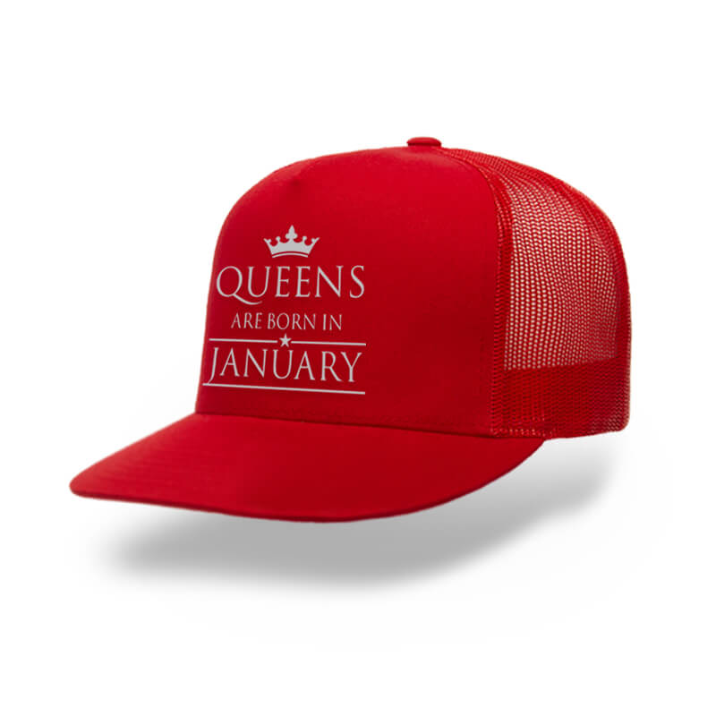 TRUCKER-RED-LEGEND-ARE-BORN-IN-JANUARY