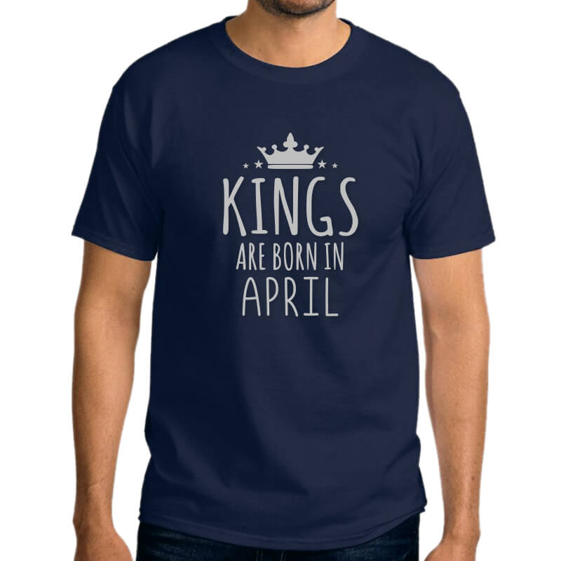 TSHIRT-NAVY-LEGENDS-ARE-BORN-IN-APRIL