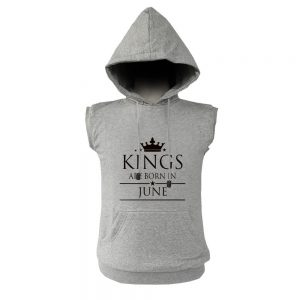 VEST HOODIE - ABU MISTY - KING ARE BORN - JUNE